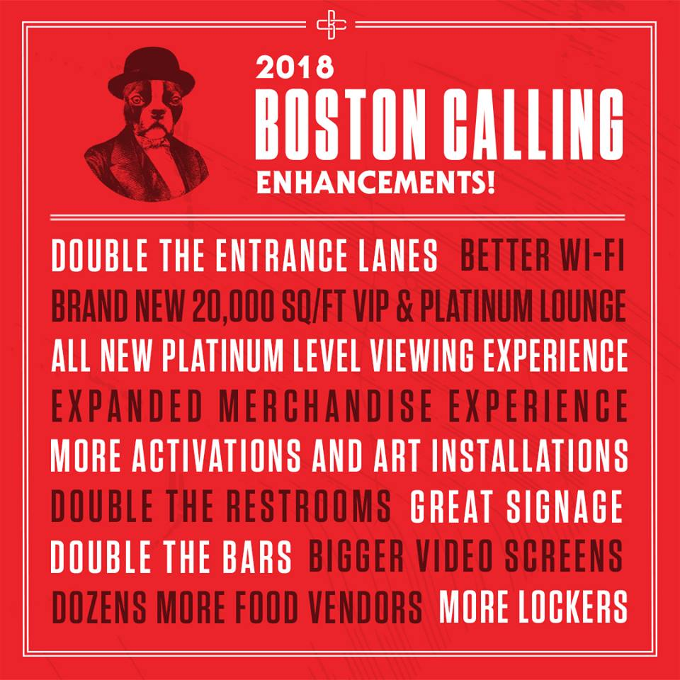 Boston Calling Restroom Enhancements for 2018