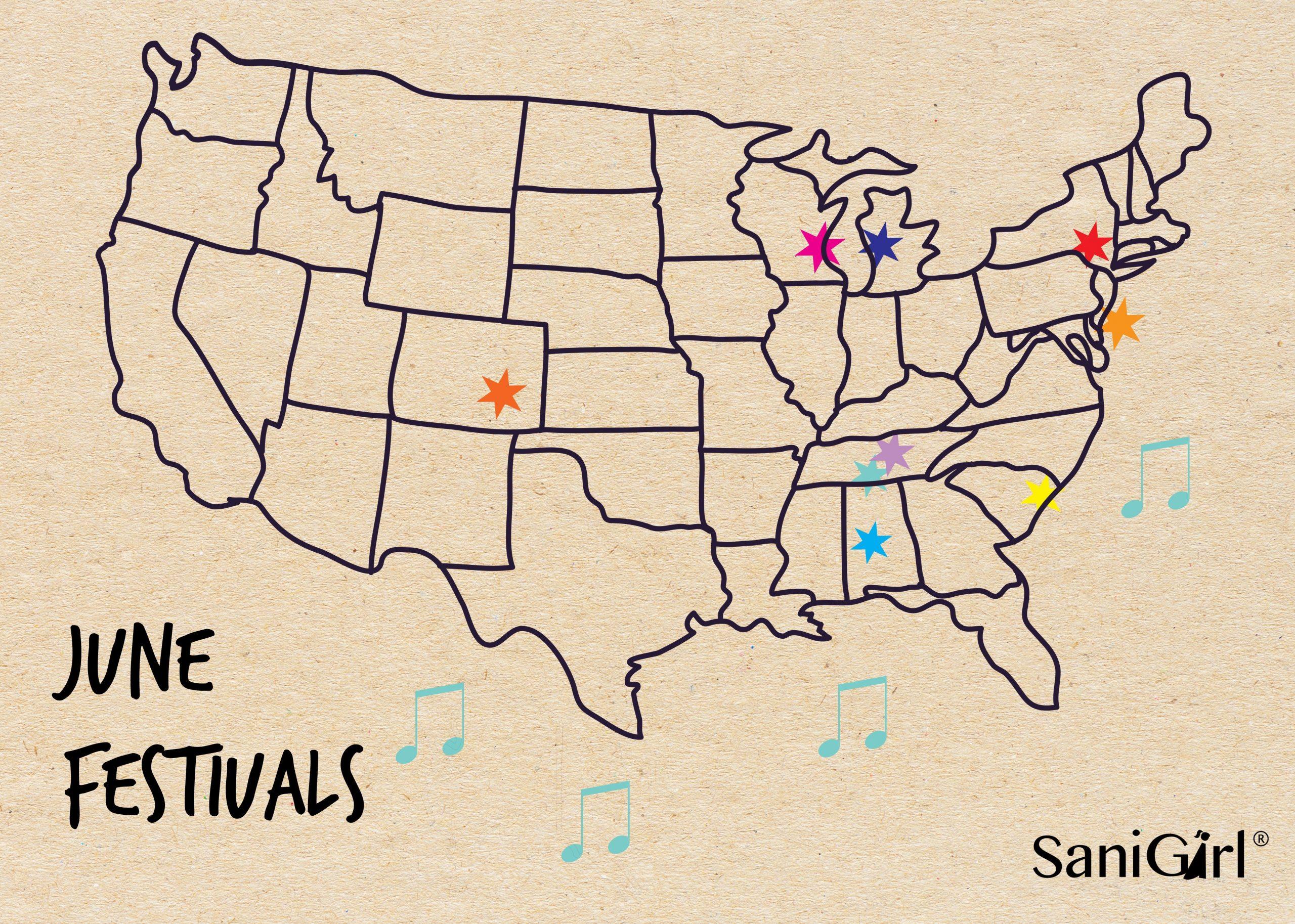 June Music Festivals