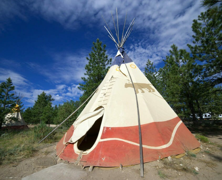 Tipi to Glamp in