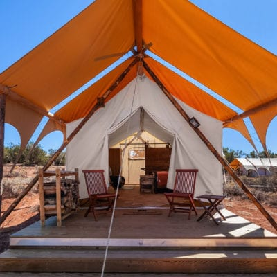 Glamping Tent near the Grand Canyon